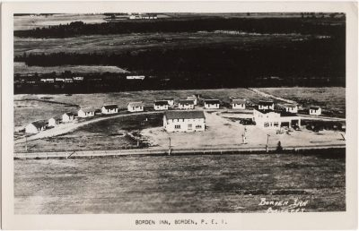 , Borden Inn, Borden, P.E.I. (0667), PEI Postcards