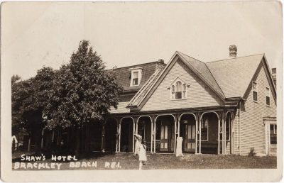 , Shaw's Hotel Brackley Beach, P.E.I. (0671), PEI Postcards