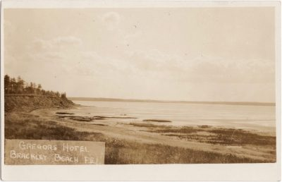 , Gregor's Hotel Brackley Beach, P.E.I. (0675), PEI Postcards