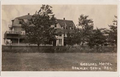 , Gregors Hotel Brackley Beach, P.E.I. (0677), PEI Postcards