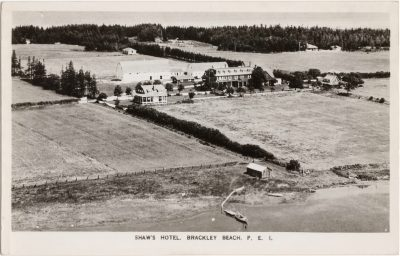 , Shaw's Hotel, Brackley Beach, P.E.I. (0679), PEI Postcards