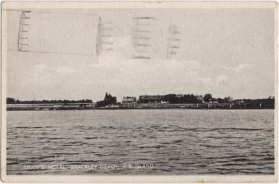 , Shaw's Hotel, Brackley Beach, P.E. Island (0676), PEI Postcards