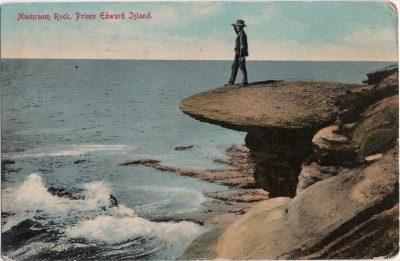 , Mushroom Rock, Prince Edward Island (0682), PEI Postcards