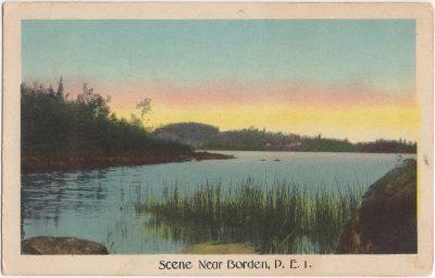 , Scene near Borden, P.E.I. (0681), PEI Postcards