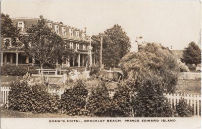 , Shaw's Hotel, Brackley Beach, Prince Edward Island (0683), PEI Postcards
