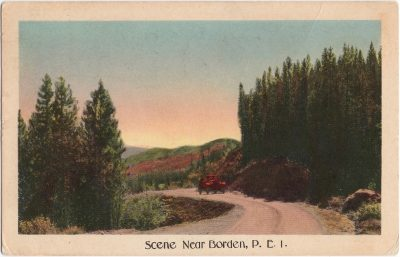 , Scene Near Borden, P.E.I. (0684), PEI Postcards