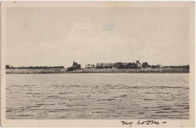 , Shaw's Hotel, Brackley Beach, P.E. Island (0686), PEI Postcards