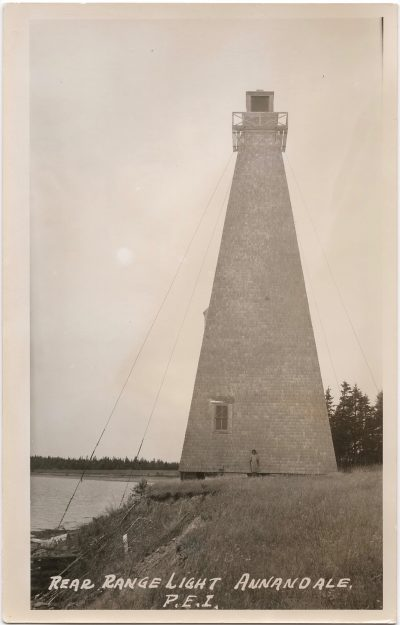 , Rear Range Light Annandale, P.E.I. (0691), PEI Postcards