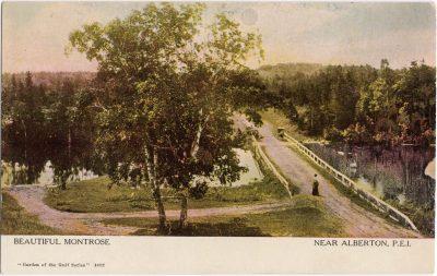 , Beautiful Montrose Near Alberton, P.E.I. (0690), PEI Postcards