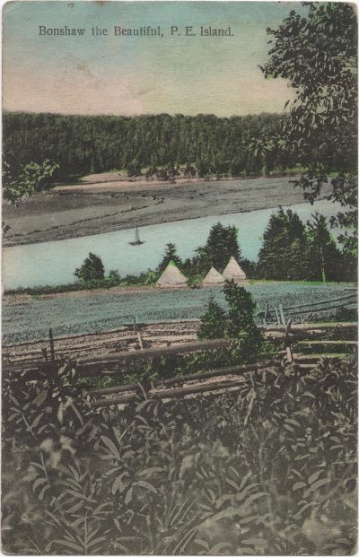 , Bonshaw the Beautiful, P.E. Island (0696), PEI Postcards
