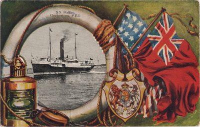 , S.S. Halifax, Charlottetown, P.E.I. (0705), PEI Postcards
