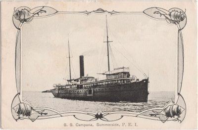 , S.S. Campana, Summerside, P.E.I. (0702), PEI Postcards