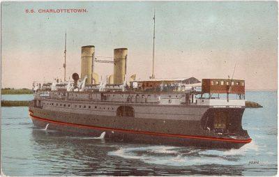 , S.S. Charlottetown (0724), PEI Postcards