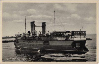 , S.S. Charlottetown (0731), PEI Postcards