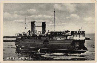 , S.S. Charlottetown (0733), PEI Postcards