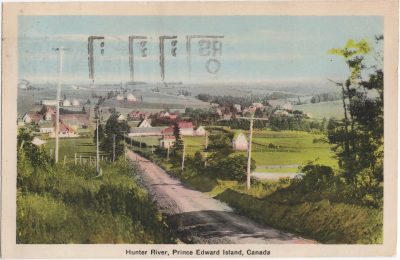 , Hunter River, Prince Edward Island, Canada (0740), PEI Postcards