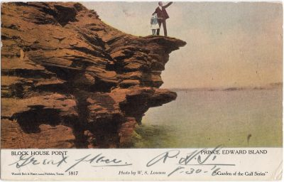 , Block House Point Prince Edward Island (0751), PEI Postcards