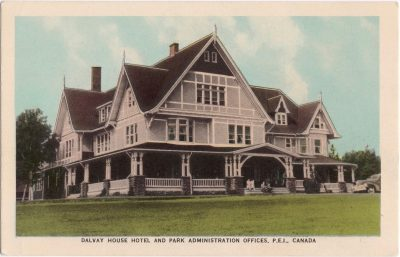 , Dalvay House Hotel and Park Administration Offices, P.E.I., Canada (0756), PEI Postcards