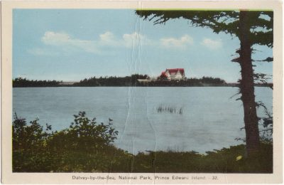 , Dalvey-by-the-Sea, National Park, Prince Edward Island (0758), PEI Postcards