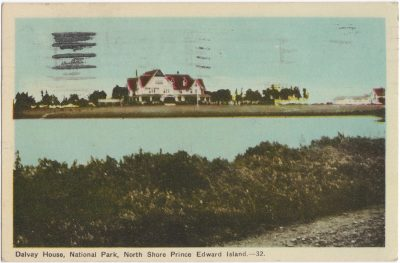 , Dalvay House, National Park, North Shore Prince Edward Island. (0761), PEI Postcards