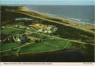 , Dalvay-by-the-Sea, Prince Edward Island National park, Canada (0763), PEI Postcards