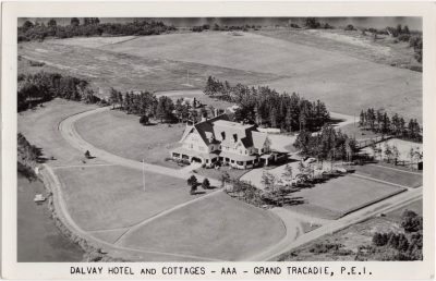, Dalvay Hotel and Cottages – AAA – Grand Tracadie, P.E.I. (0765), PEI Postcards