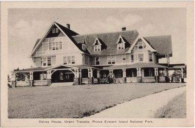 , Dalvay House, Grand Tracadie, Prince Edward Island National Park. (0766), PEI Postcards
