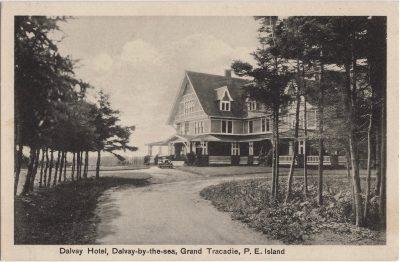 , Dalvay Hotel, Dalvay-by-the-sea, Grand Tracadie, P.E. Island (0767), PEI Postcards