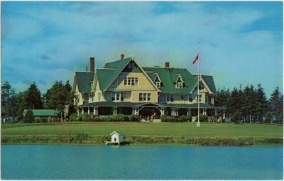 , The Island's Resort of Distinction. AAA Approved. Dalvay by the Sea Hotel and Cottages. (0771), PEI Postcards