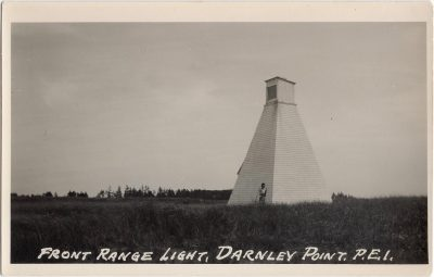, Front Range Light, Darnley Point, P.E.I. (0774), PEI Postcards