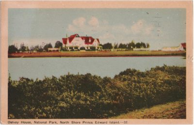 , Dalvay House, National Park, North Short Prince Edward Island. (0777), PEI Postcards