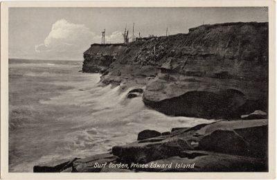 , Surf, Borden, Prince Edward Island. (0779), PEI Postcards