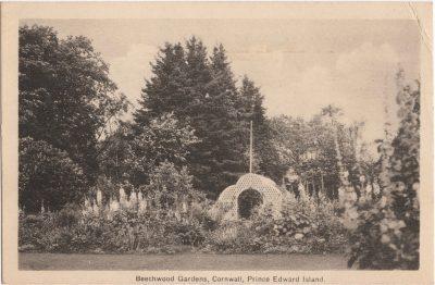 , Beechwood Gardens, Cornwall, Prince Edward Island (0744), PEI Postcards