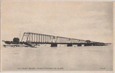 , Hillsboro Bridge, Charlottetown, P.E. Island (0829), PEI Postcards