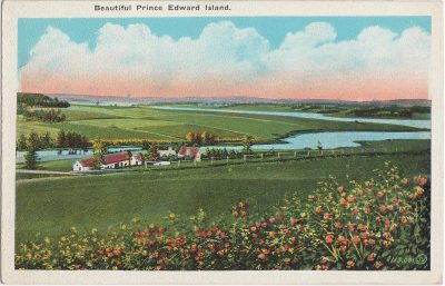 , Beautiful Prince Edward Island. (0830), PEI Postcards