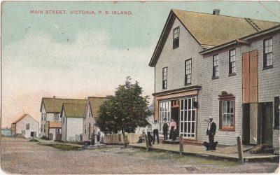 , Main Street, Victoria, P.E. Island (0832), PEI Postcards
