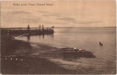 , Rocky point, Prince Edward Island. (0836), PEI Postcards
