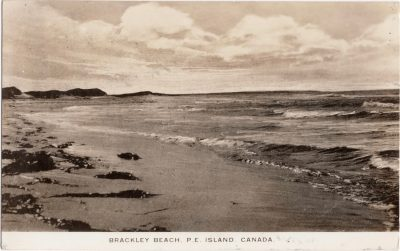 , Brackley Beach, P.E. Island, Canada. (0838), PEI Postcards