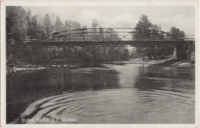 , Dunk River, P.E. Island (0843), PEI Postcards