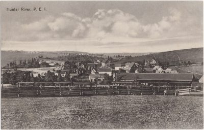 , Hunter River, P.E.I. (0854), PEI Postcards