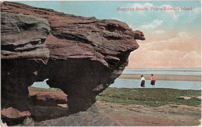 , Hampton Beach, Prince Edward Island (0855), PEI Postcards