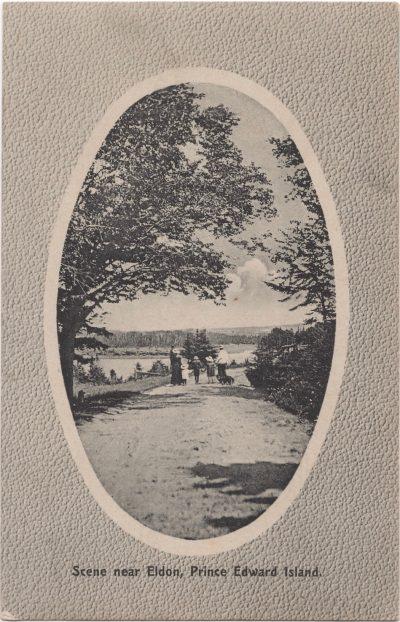 , Scene near Eldon, Prince Edward Island (0856), PEI Postcards