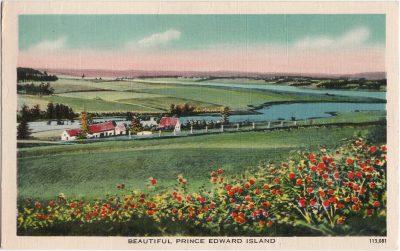 , Beautiful Prince Edward Island (0782), PEI Postcards