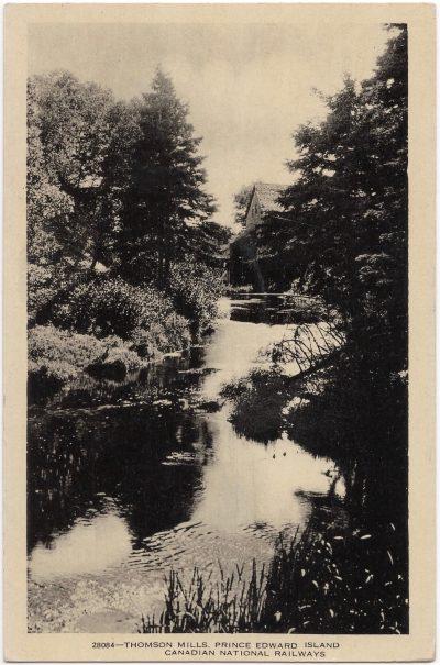 , Thomson Mills, Prince Edward Island {Thompson's Mills} (0798), PEI Postcards