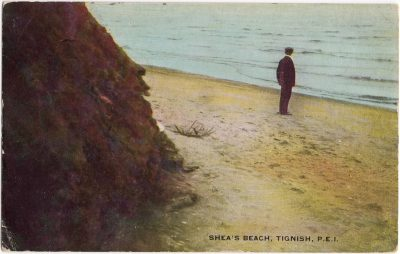 , Shea's Beach, Tignish, P.E.I. (0807), PEI Postcards