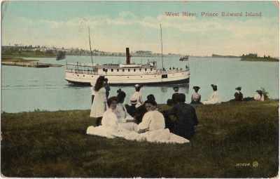 , West River, Prince Edward Island (0814), PEI Postcards