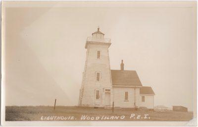 , Lighthouse, Wood Island, P.E.I. (0816), PEI Postcards