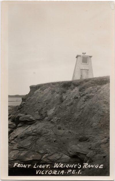 , Front Light, Wright's Range, Victoria, P.E.I. (0817), PEI Postcards