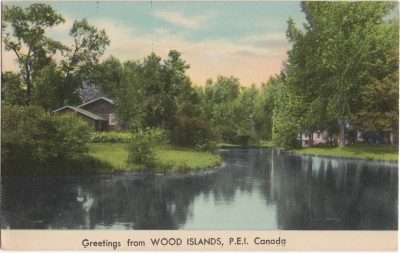 , Greetings from Wood Islands, P.E.I. Canada (0818), PEI Postcards
