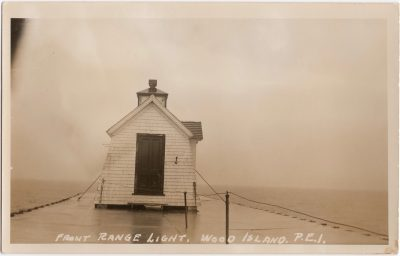 , Front Range Light, Wood Island, P.E.I. (0812), PEI Postcards